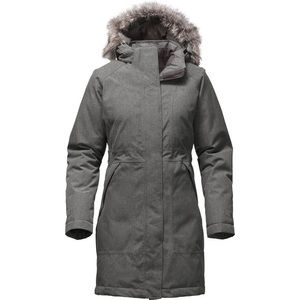 North Face Gray Arctic Parka